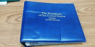 U.S. FDCs The Presidents of the United States Album. All 40 included