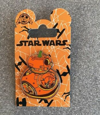 Disney Parks Trading Pin Star Wars Halloween 2018 BB8 BB-8 PUMPKIN NEW