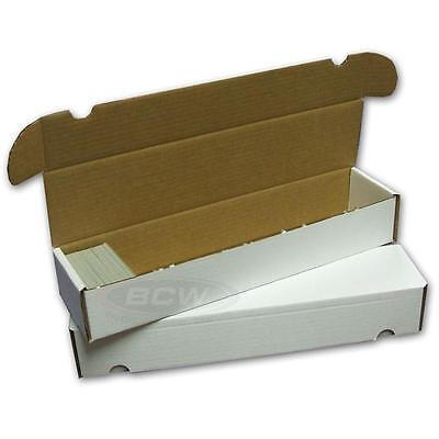 5x BCW 930 COUNT ct Corrugated Cardboard Storage Boxes Sports/Trading Cards box