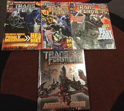 Transformers Comic Books And Revenge Of The Fallen Annual