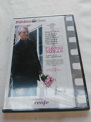Flores Rotas Bill Murray Jim Jarmusch Sharon Stone Dvd Slim Español English