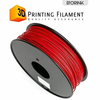 Red 3D Printer Filament 1kg/2.2lb 1.75mm PLA For MakerBot RepRap Huxley