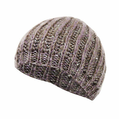 Womens/Ladies Winter Cable Hat With Sequin Detail (HA395)