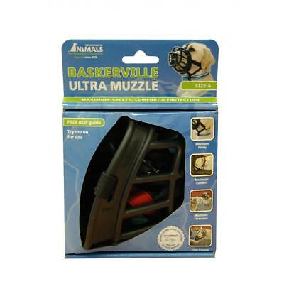Baskerville Ultra Secure Dog Muzzle (Size 4) (BT938)