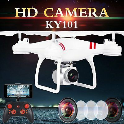 Wide Selfie Drone HD Camera 2.4G Wifi FPV RC Quadcopter 4CH 6AXIS  Helicopter UK