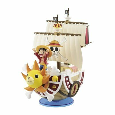 Banpresto ONE PIECE LUFFY Thousand Sunny Mega World Collectible Figure SP _AU