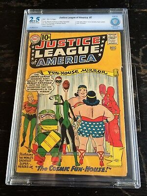 Justice League of America #7 CBCS 2.5 Off W/White Not CGC