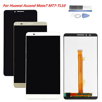 LCD Display Touch Screen Digitizer Assembly Kit For Huawei Ascend Mate7 MT7-TL10