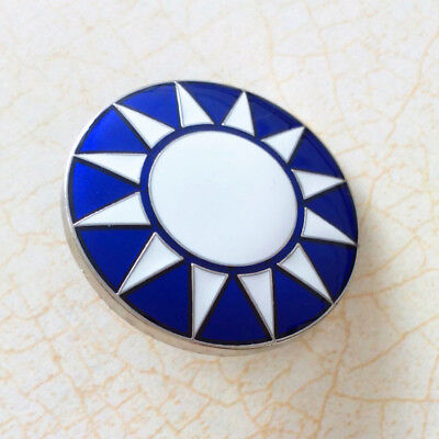 Chinese KMT army small hat cap pin badge insignia KMT BROOCH-F-00146