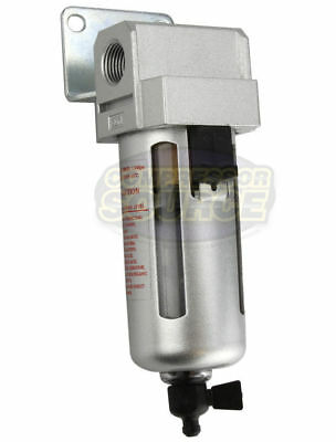 """1/4"""" Compressed Air In Line Moisture & Water Filter Trap F802 Compressor New"""