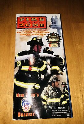 Fire Zone FDNY Firefighter Action Figure Doll New York Real Heroes Never Opened