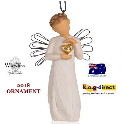 2018 ORNAMENT Demdaco Willow Tree Figurine By Susan Lordi BRAND NEW IN BOX