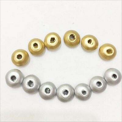 DIY 500X Wooden Spacer Beads DIY Baby crafts Makeing Necklace Wood Beads 12mm