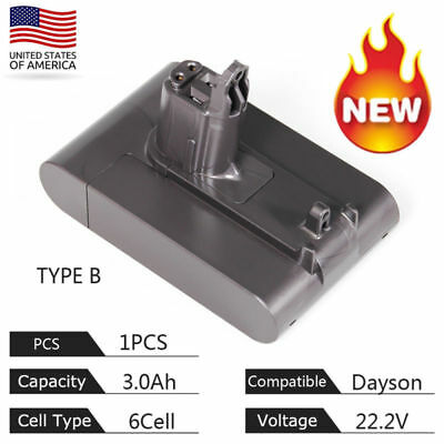 3.0Ah 22.2V 6Cells For Dyson Type B Tool Battery 17083-421 18172-01-04  DC35