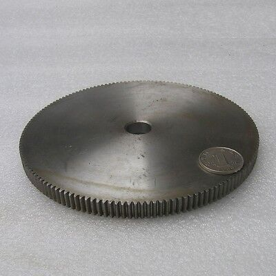 1 Mod 150T Motor Spur Gear 45# Steel Gear Thickness 10mm Outer Dia 152mm x 1Pcs