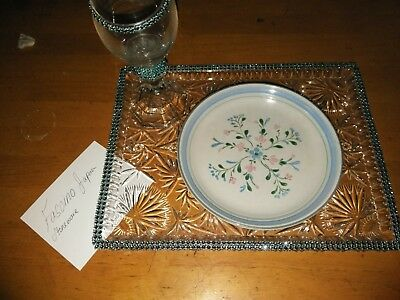 Fascino by Yamaka - Hand Decorated Stoneware - Japan - Set of (4) dinner plates