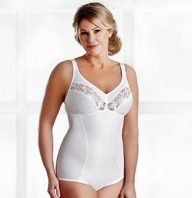 Swegmark of Sweden Shaping Lace Body Corselette Girdle 37610 RRP £45.00