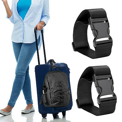 Durable Travel Luggage Baggage Suitcase Bag Strap Belt Hook Clip Brand NEW
