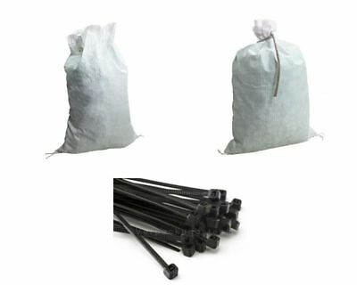 Heavy Duty Bag Lagersack White 15 up to 100 Lbs Buoyancy Fruit Vegetables Wood