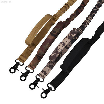 Outdoor Dog Tactical Leash Elastic Strap Adjustable Walk Puppy Leads Bungee