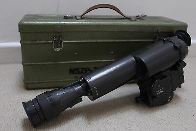HUNGARIAN ARMY NSZP-3 Night Vision Scope for AMD-65 in box with spare  parts, bag
