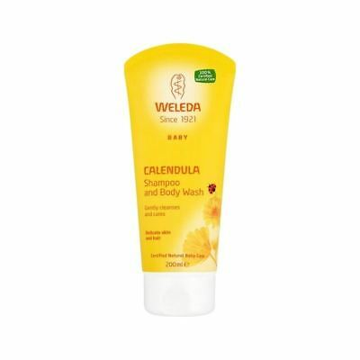 Weleda Baby Calendula Shampoo & Body Wash 200ml (Pack of 6)
