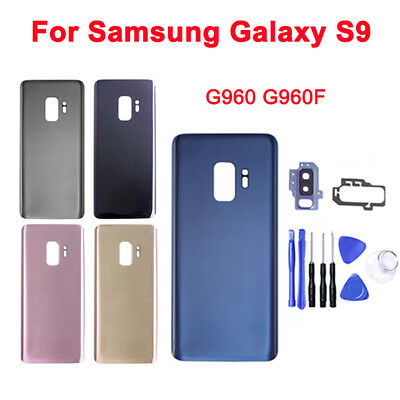 Housing Back Glass Case Rear Battery Door Cover for Samsung Galaxy S9 S9 Plus