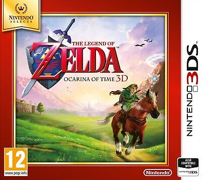 The Legend of Zelda: Ocarina of Time 3D - Selects | Nintendo 3DS / 2DS New (1)