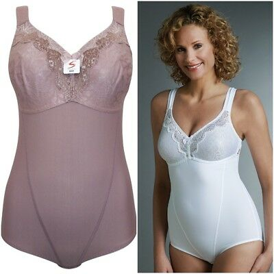 Swegmark of Sweden Shaping Lace Body Corselette 37440 RRP £45.00