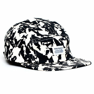 153f0ed6ec9 Norse Projects Broken Leaf 5-Panel Strapback Cap - Dark Shadow