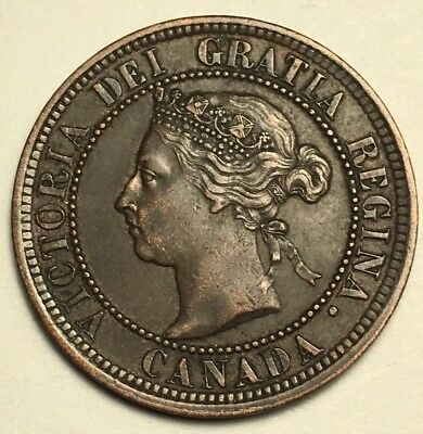 1888 - Canada Large Cent - HIGH GRADE/LOW RESERVE!