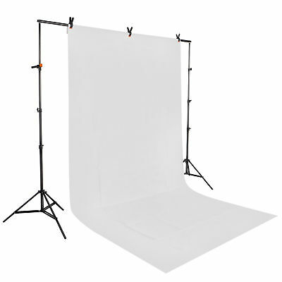 New Photo Studio 1.6 x 3m White Backdrop Background Screen Photography AU