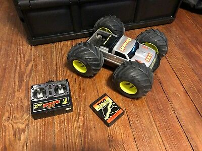 Vintage Tyco Rebound RC car - includes remote and battery - no charger