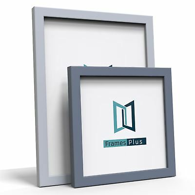 Grey Wooden Picture Photo Poster frame A1 A2 A3 A4 Large Square All Sizes