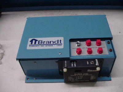 BRANDT PI-PCT 2110 Pressure to Current Transducer