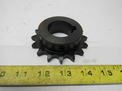 "Amec 50BS16HX1-7/16H #50 16T 1-7/16"" Bore Single Strand Roller Chain Sprocket"