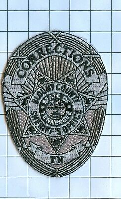 Police Patch Embroidered Mini-Patch  - Tennessee - Corrections Blount County