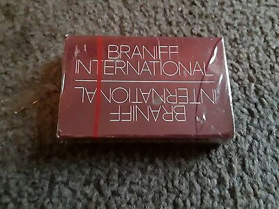 Vintage Braniff International Airlines Playing Cards Sealed