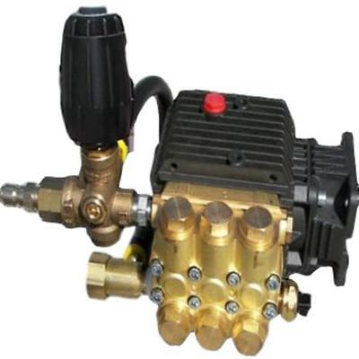 Fully Plumbed General TP2530J34 2500 PSI 3.0 GPM Replacement Triplex Pump