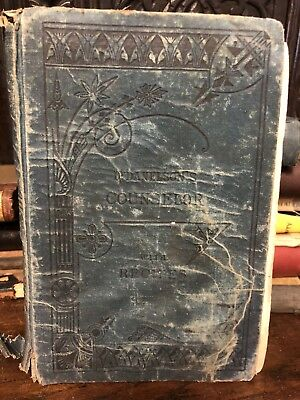 1881 book Dr. Danelson's Counselor Recipes Trusty Guide for Family & Physician