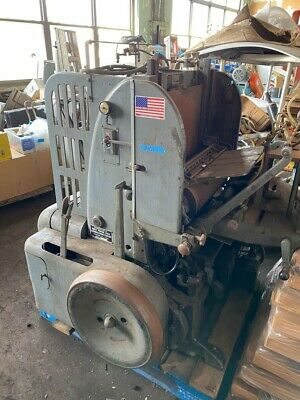The Miehle Vertical Letter Press / with Die Cutter ability Beige