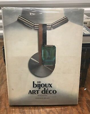 Bijoux ART DECO BEAUTIFUL FRENCH BOOK ON MAGNIFICENT JEWELRY
