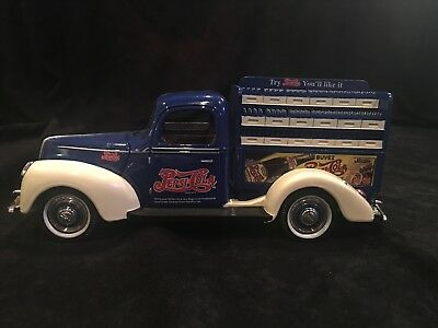 1940 Ford Pepsi Cola Truck Die Cast Premier Edition Golden Wheel Collectible