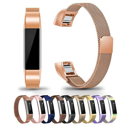 Many Small Magnetic Milanese Metal Band Strap For Fitbit Alta / Alta HR / ACE