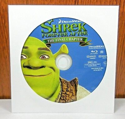 Shrek Forever After - Disc Only (Blu Ray)
