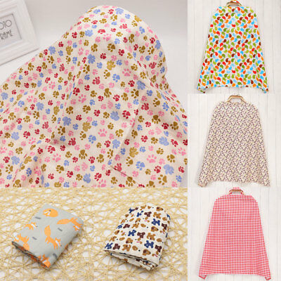 Uk_ Mum Baby Nursing Cover Breastfeeding Apron Poncho With Rigid Neckline All