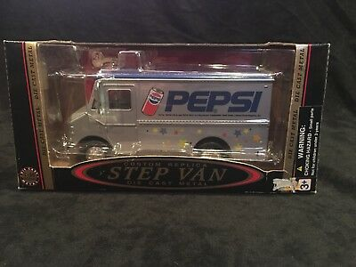 Pepsi Collectible Custom Replica Step Van Bank, In Box And With Key