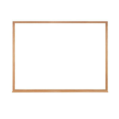 """Ghent 36"""" x 46.5""""  Non-Magnetic Acrylate Whiteboard with Wood Frame"""
