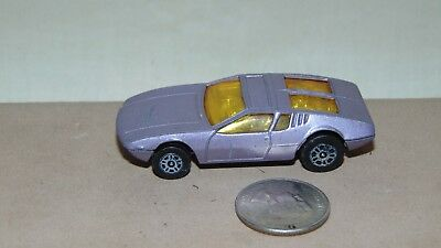 Vintage Car Corgi Juniors Whizzwheels De Tomaso Mangusta Made In Gt Britain