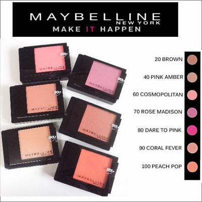 Maybelline FaceStudio Powder Blush *Choose your shade* Free P&P! Fast Dispatch!